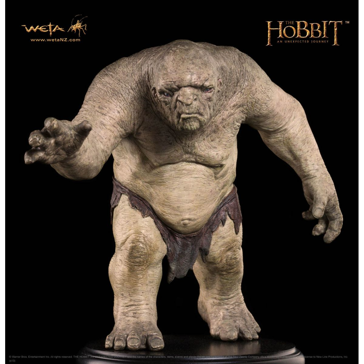 Estátua William the Troll: O Hobbit: Uma Jornada Inesperada - Weta - CD