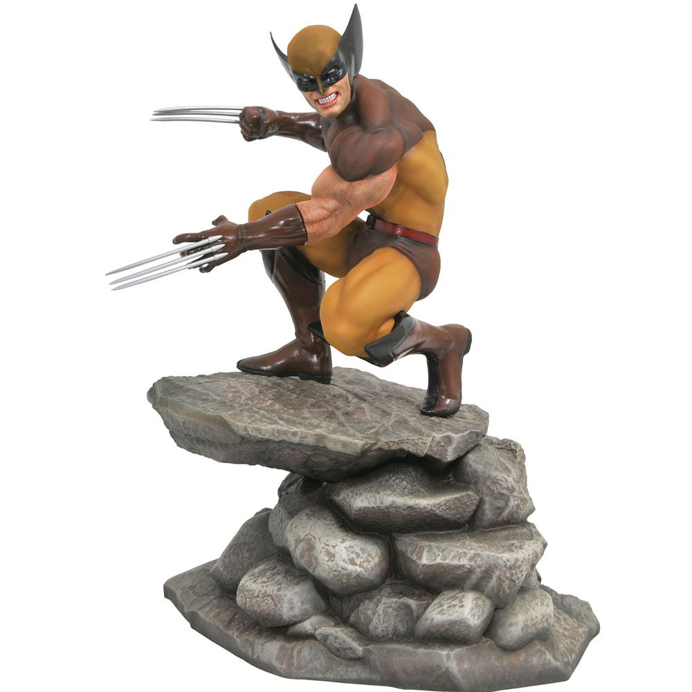 Estátua Wolverine (Diorama): X-Men Marvel Gallery - Diamond Select