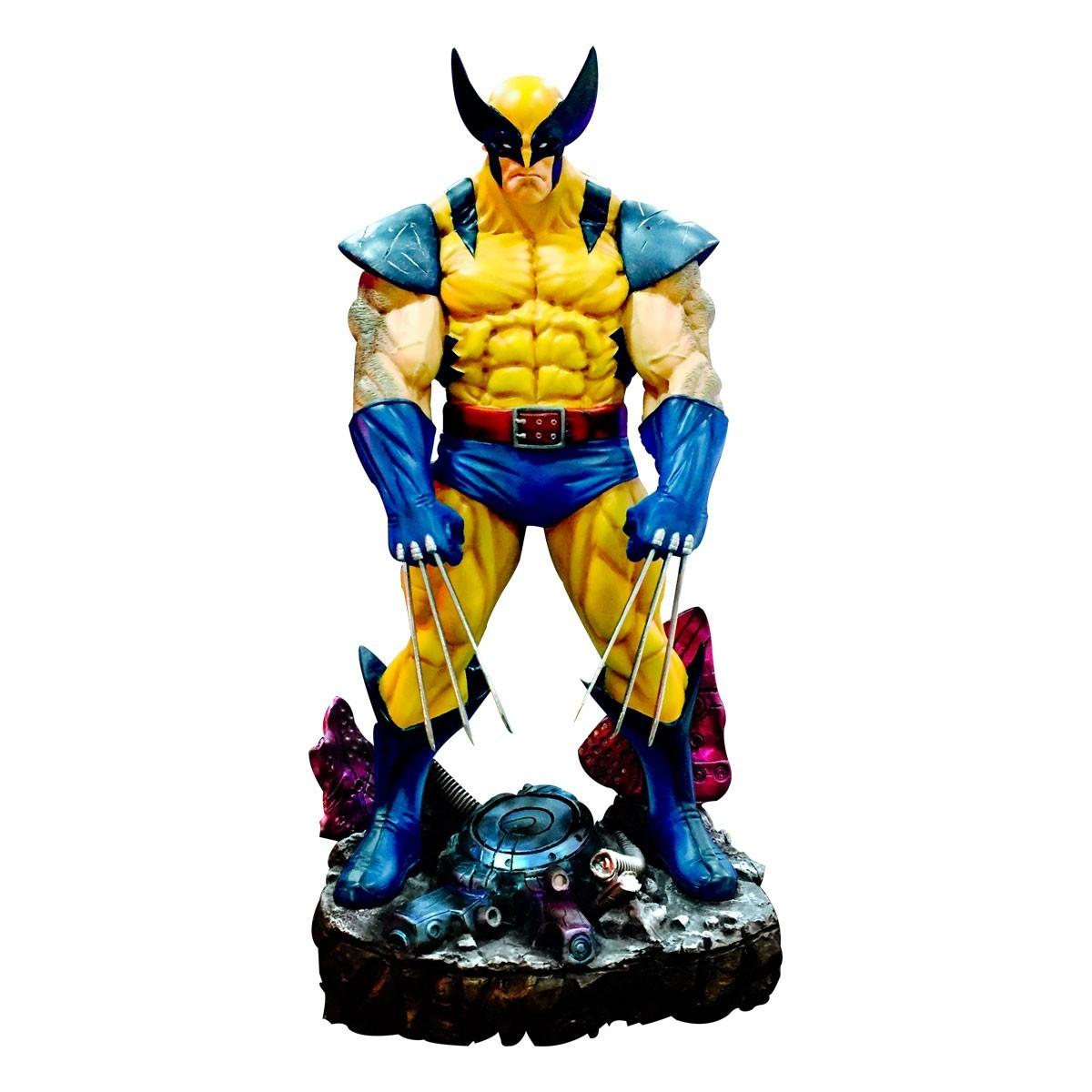 Estátua Wolverine Escala 1/4 (by Gabriel Luna)