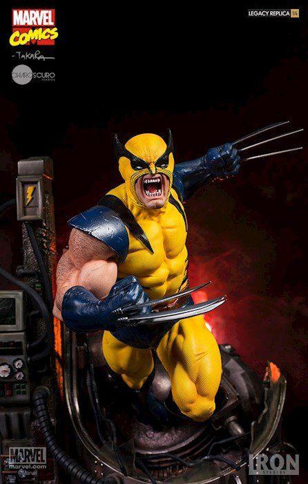 Estátua Wolverine: Marvel Comics Legacy Replica (By Marcio Takara) Escala 1/4 - Iron Studios