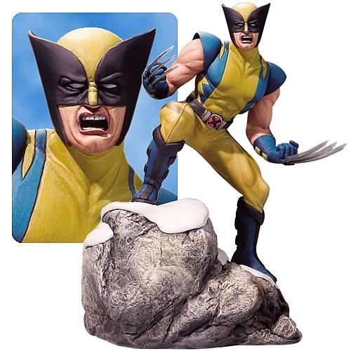 Estátua Wolverine: Marvel Heroes Escala 1/12 - Corgi