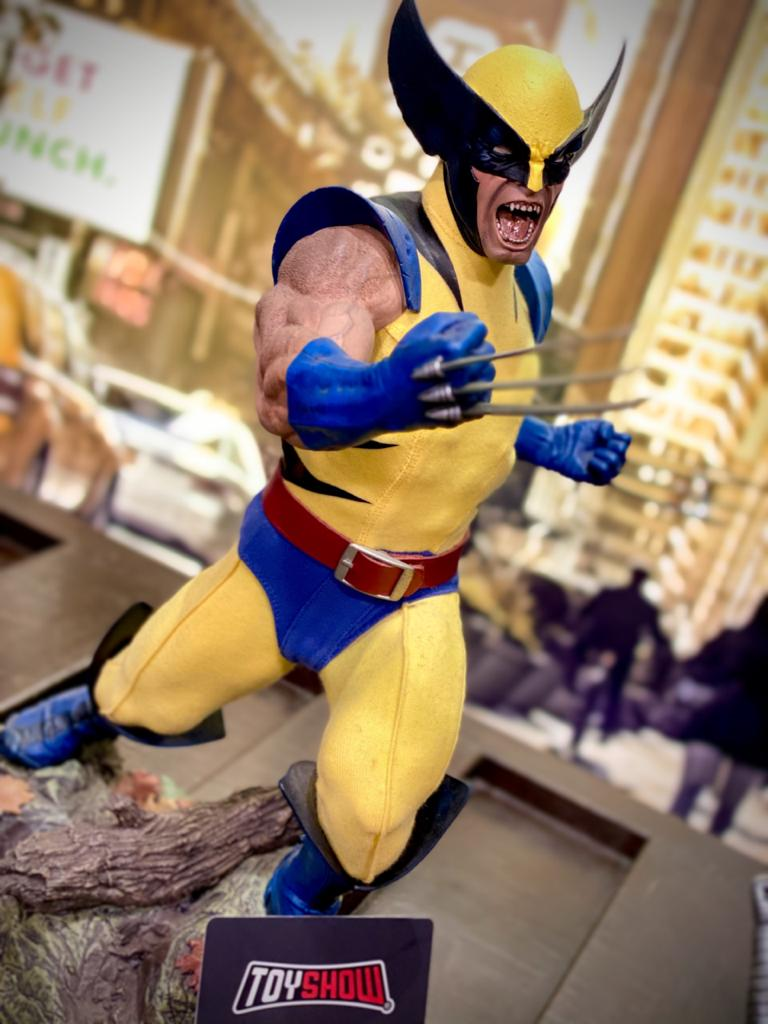 Estátua Wolverine X-Men Marvel Comics Escala 1/4 Format Premium - Sideshow Collectible - CD
