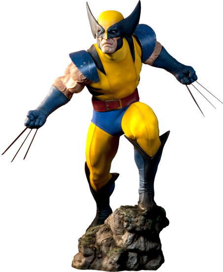 Estátua Wolverine: X-Men Marvel Collectibles (Escala 1/2) - Sideshow