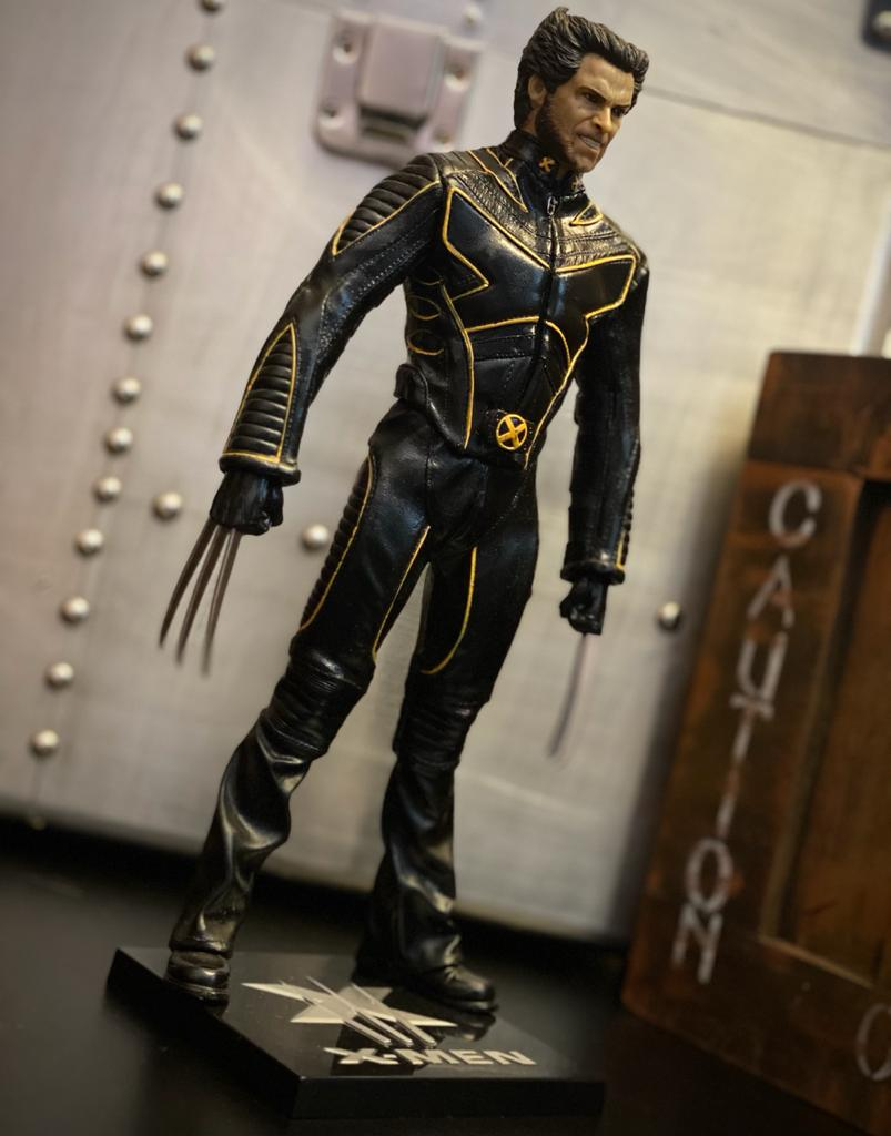 Estátua Wolverine: X-Men O Confronto Final (The Last Stand)  Escala 1/6  - Crazy Toys