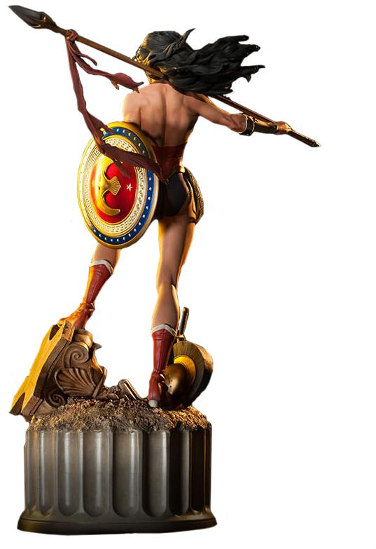 Estátua Mulher Maravilha (Wonder Woman): DC Comics (Premium Format) (300115) - Sideshow Collectibles (Apenas Venda Online)