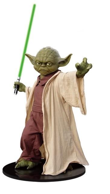 Estátua Yoda Life Size Monument: Star Wars: Episódio III A Vingança dos Sith Escala 1/1 - Gentle Giant - CG