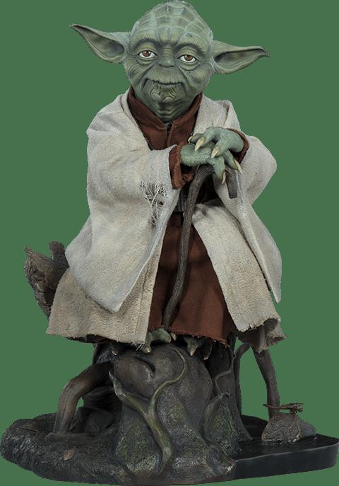 Estátua Yoda: Star Wars O Império Contra-Ataca (The Empire Strikes Back) Legendary Scale - Sideshow