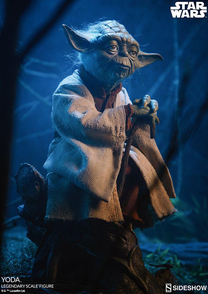 Estátua Yoda: Star Wars O Império Contra-Ataca (The Empire Strikes Back) Legendary Scale - Sideshow (Apenas Venda Online)