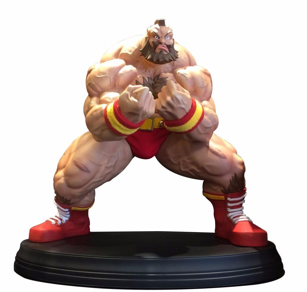 Estátua Zangief: Street Fighter