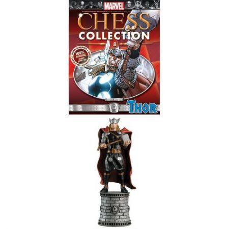 Estatueta Colecionavel + Revista #8 - Thor / White Bishop - Eaglemoss