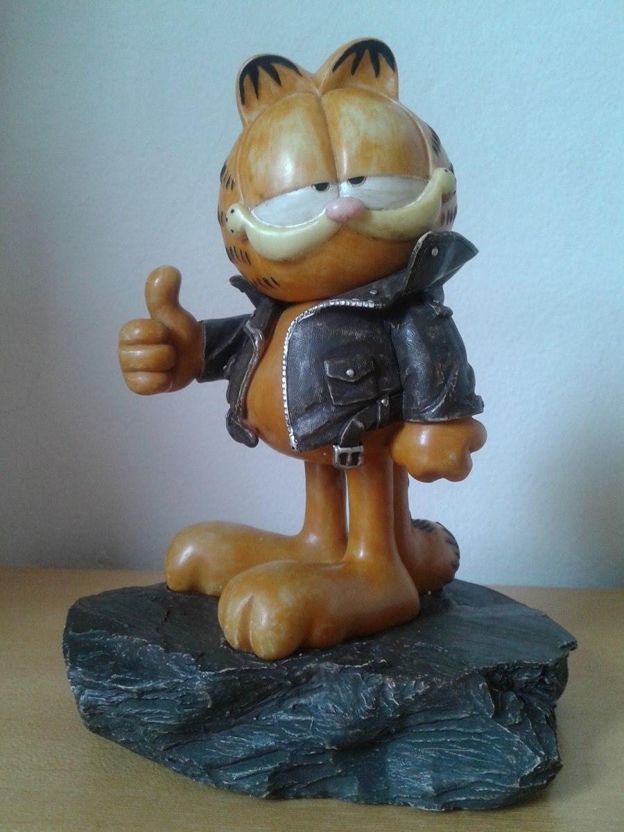 Estatueta do Garfield com Jaqueta