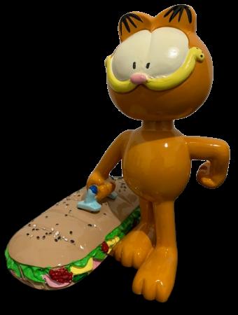 Estátua Garfield (Bobble Head): Sanduíche