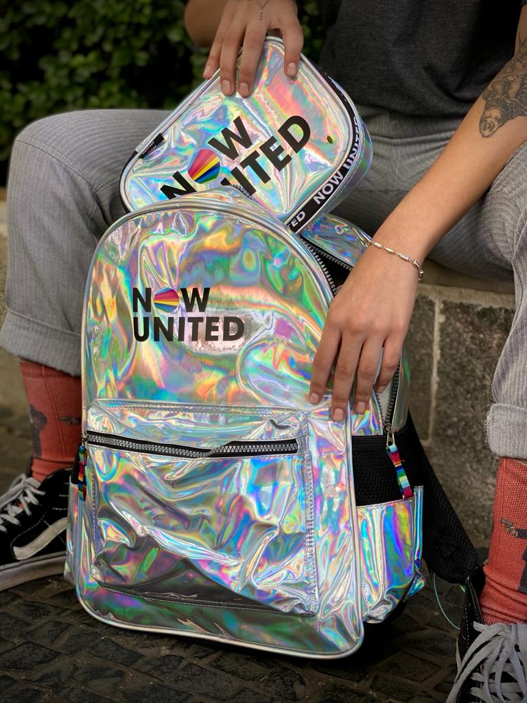 Estojo Now United (Material Holográfico)