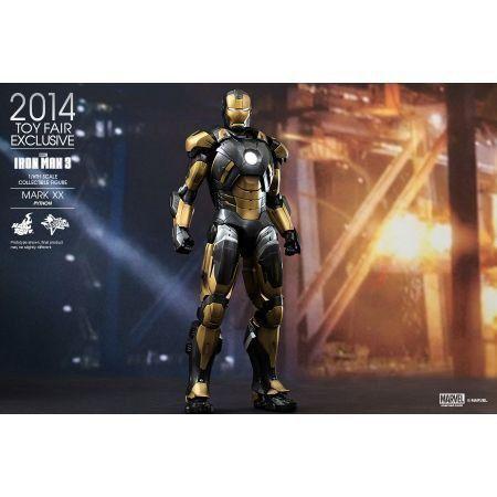 Exclusivo Toy Fair 2014 Iron Man 3 Iron Man Mark XX Python Armor 1:6 - Hot Toys