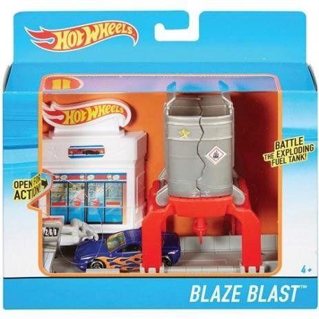 Explosão de Fogo: Hot Wheels - Mattel