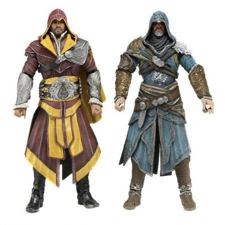 Ezio Auditor  Pack com 2 Assassins Creed  - Neca