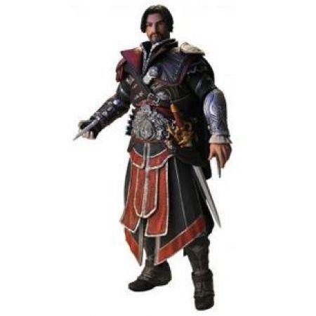 Ezio Ebony Sem Capuz Assassins Creed Brotherhood -  Neca