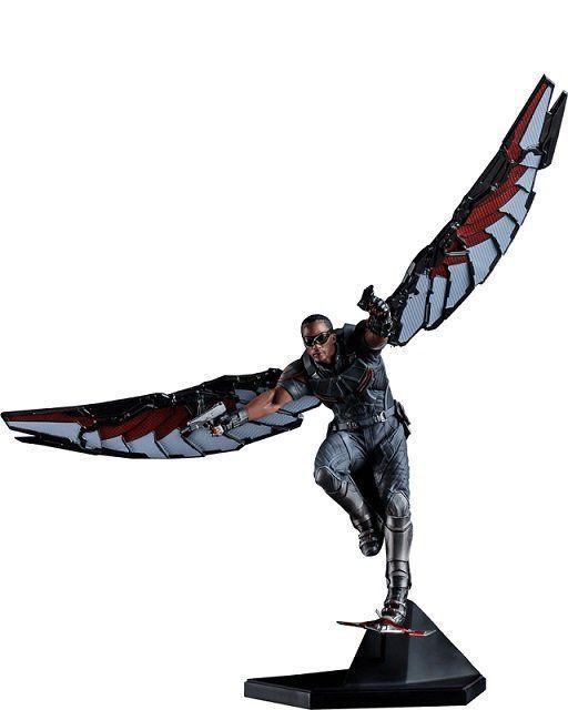 Estátua Falcão (Falcon): Guerra Civil Escala 1/10 - Iron Studios - CD