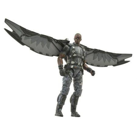 The Winter Soldier: Falcon (Falcão) Marvel Select - Diamond