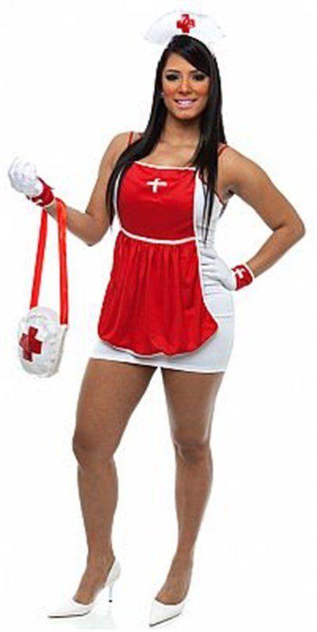 Fantasia Adulto Feminino: Enfermeira Sexy