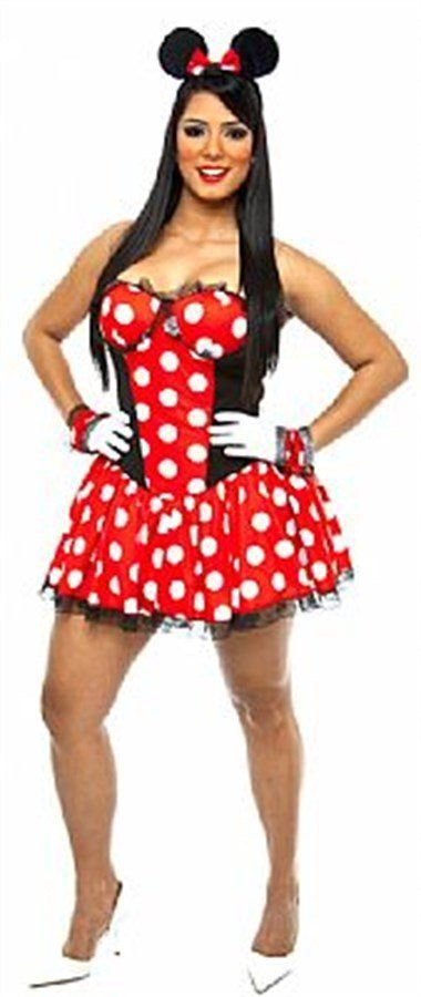 Fantasia Adulto Feminino: Minnie Sensual