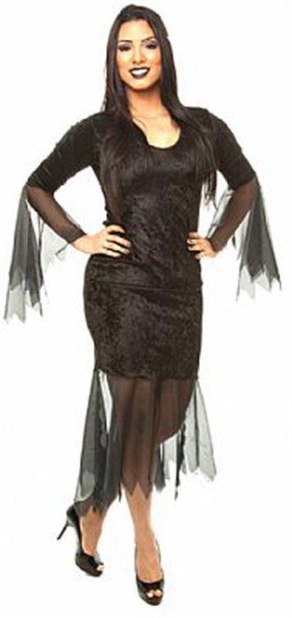 Fantasia Adulto Feminino: Mortícia Addams: Família Addams