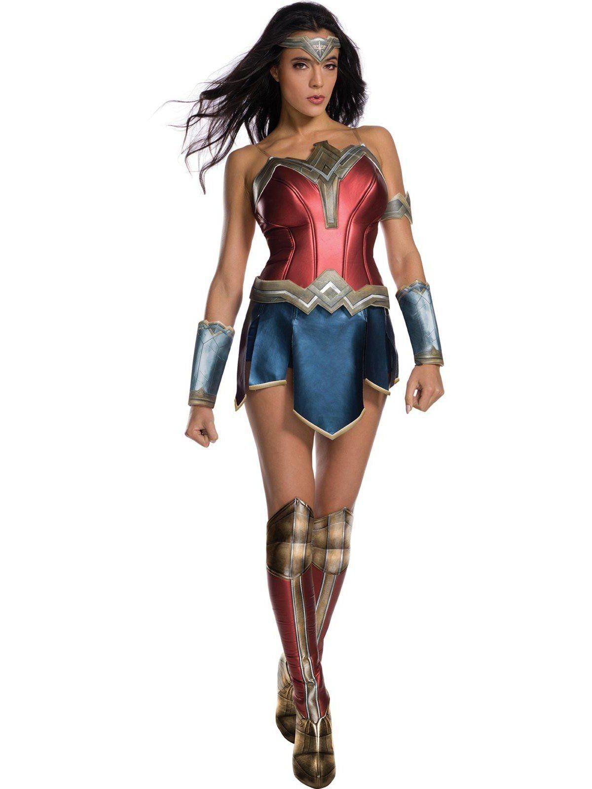 Fantasia Adulto Feminino Mulher Maravilha: Wonder Woman Movie (Apenas Venda Online)
