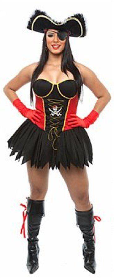 Fantasia Adulto Feminino: Pirata Sexy