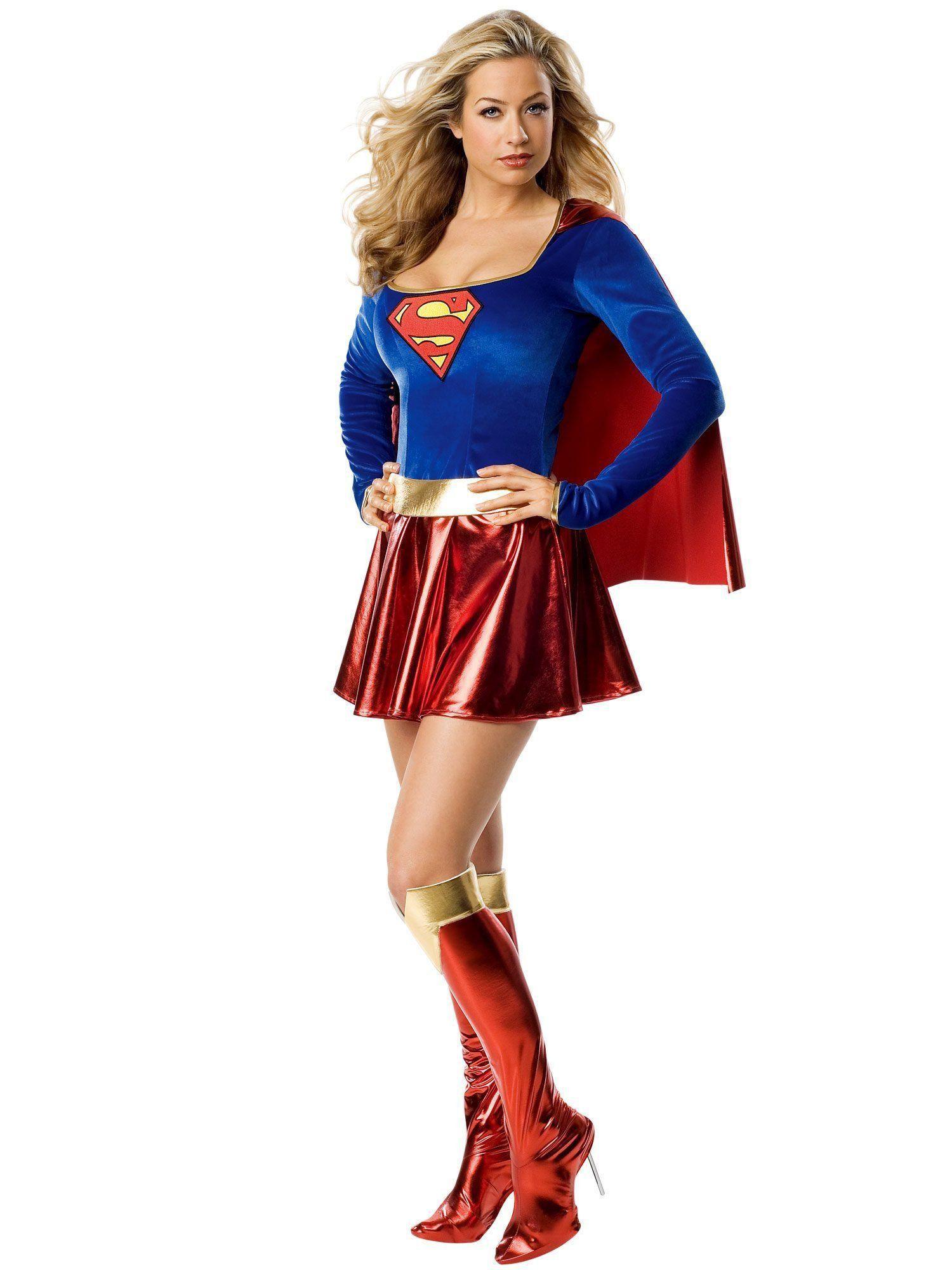 Fantasia Adulto Feminino: Supergirl (Apenas Venda Online)