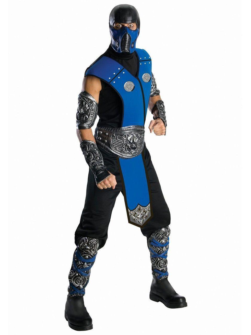 Fantasia Adulto Masculina Sub-Zero: Mortal Kombat (Apenas Venda Online)