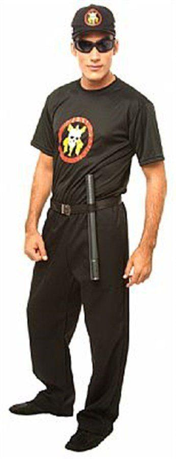 Fantasia Adulto Masculino: Policial Tropa de Elite
