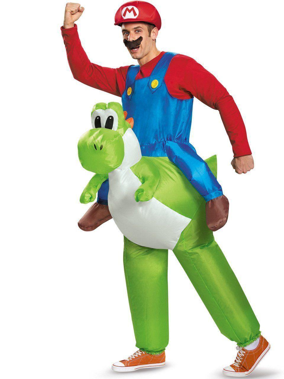 Fantasia Adulto Masculino: Super Mario Brothers no Yoshi (Apenas Venda Online)