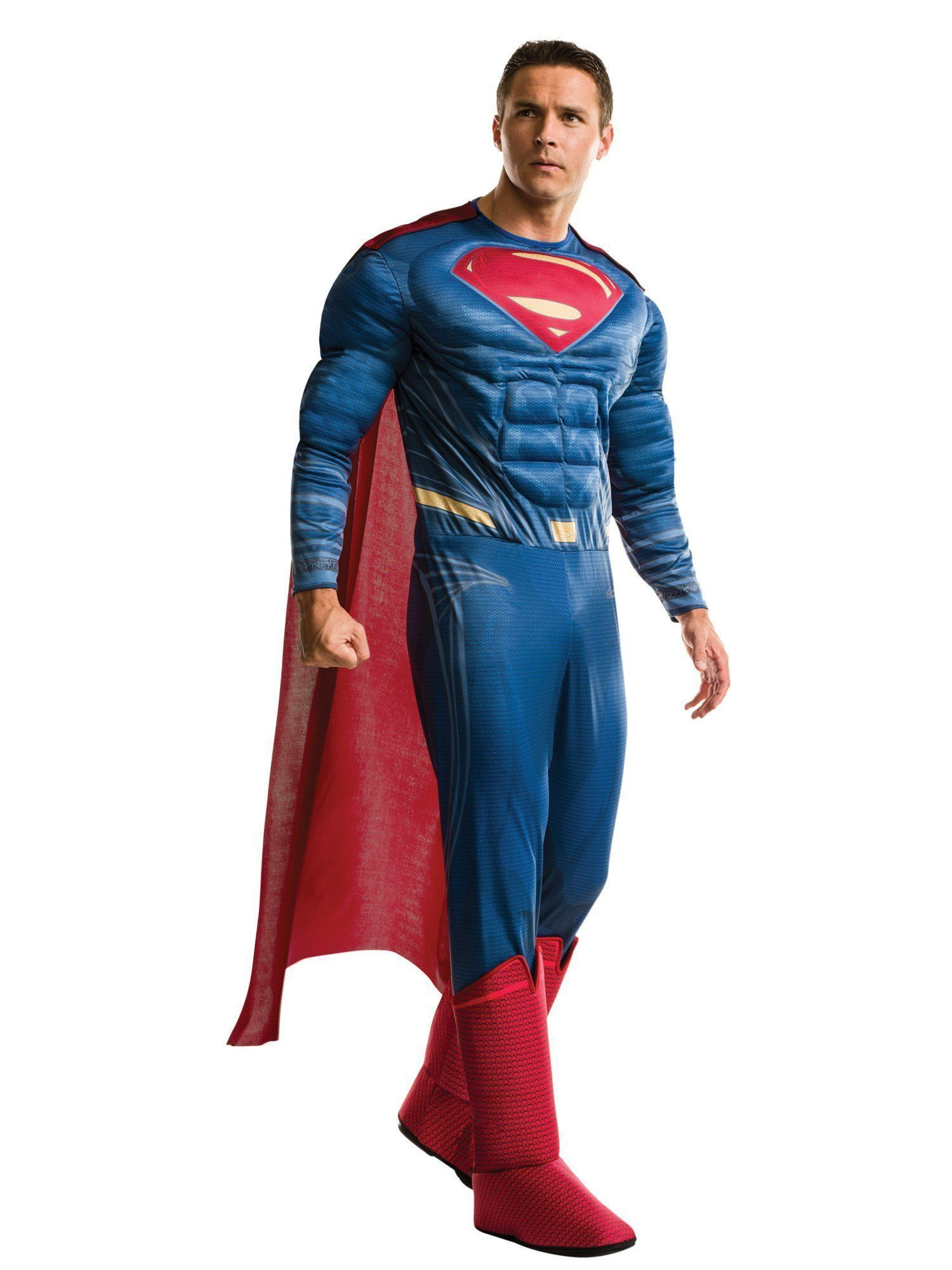 Fantasia Adulto Masculino Superman: Batman vs Superman (Deluxe) (Apenas Venda Online)