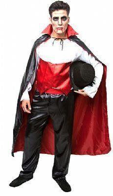 Fantasia Adulto Masculino: Vampiro