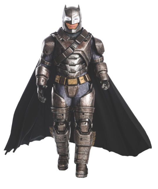 Fantasia Batman (Armored): Batman vs Superman A Origem da Justiça (Dawn of Justice) - Rubies Costume - CD