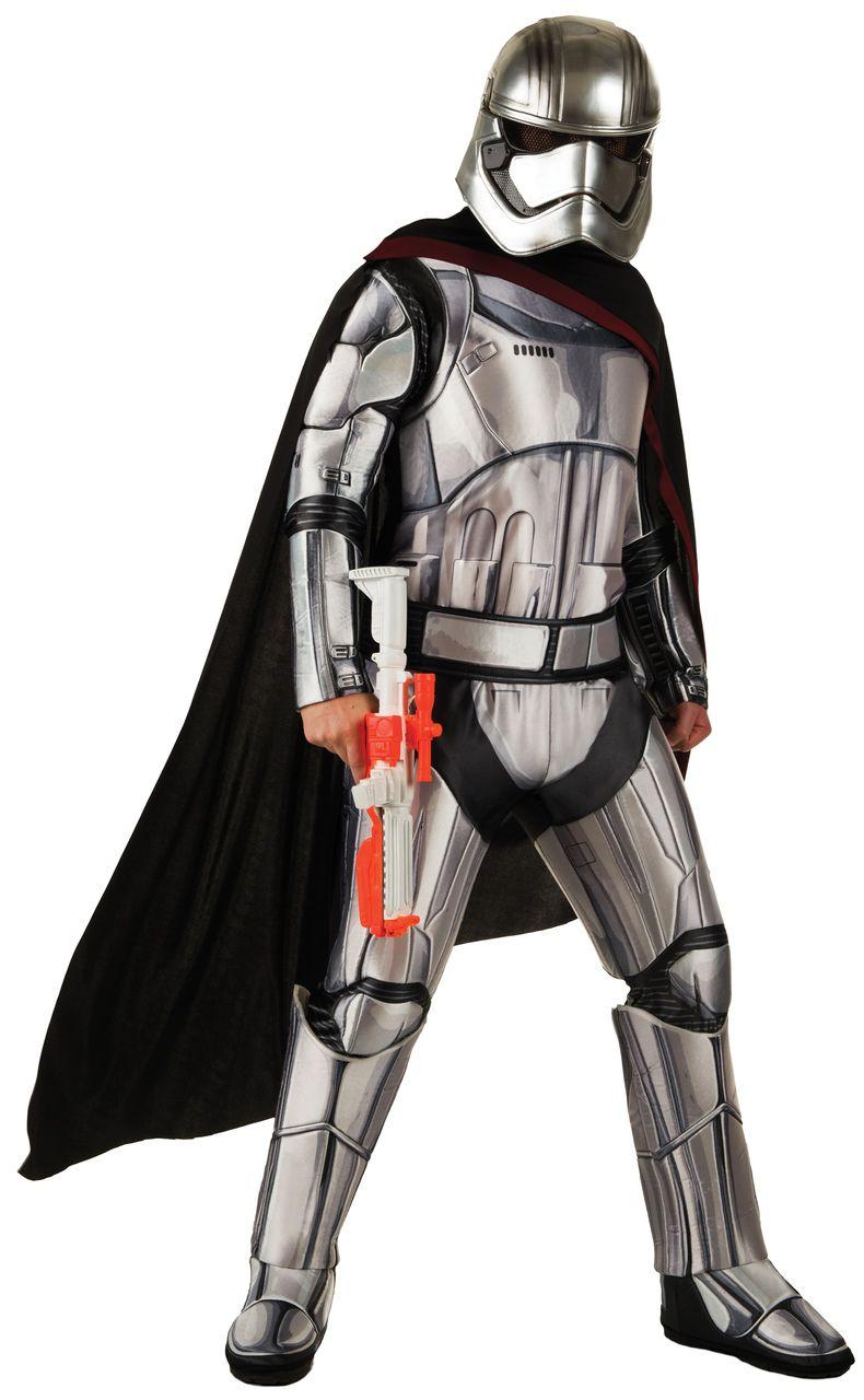 Fantasia Capitã Phasma: Star Wars O Despertar da Força - Rubies Costume - CD