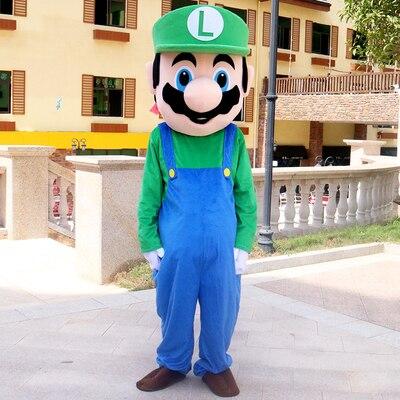 Fantasia Cosplay Luigi: Super Mario Bros Grande - MKP