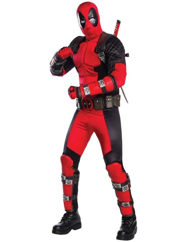 PRÉ VENDA : Fantasia Deadpool Adulto G Grand Heritage - Rubbies Co