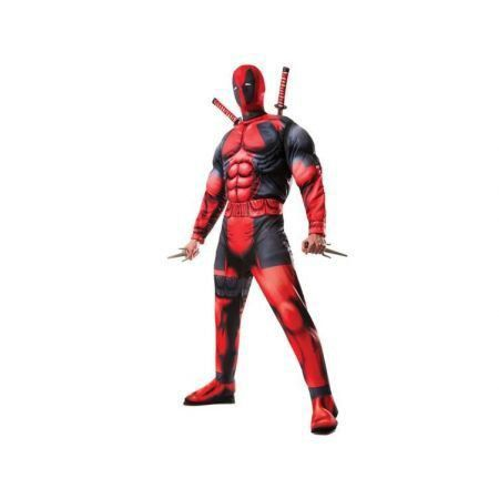 Fantasia Deadpool Deluxe Muscle Chest Costume - Rubies