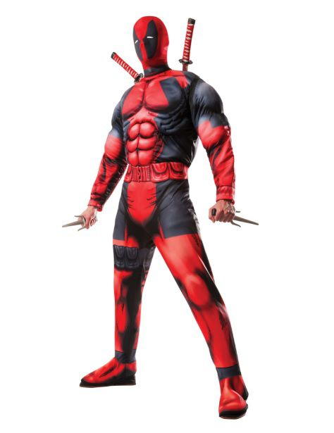 Fantasia Deadpool Muscle: Marvel - Rubies Costume - CD
