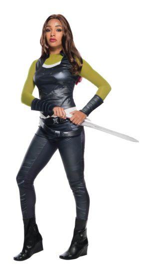 Fantasia Gamora: Guardiões da Galáxia 2 (Guardians of the Galaxy Vol. 2) - Rubies Costume - CD