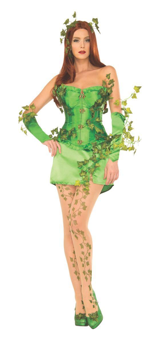 Fantasia Hera Venenosa (Poison Ivy): DC Comics - Rubies Costume - CD
