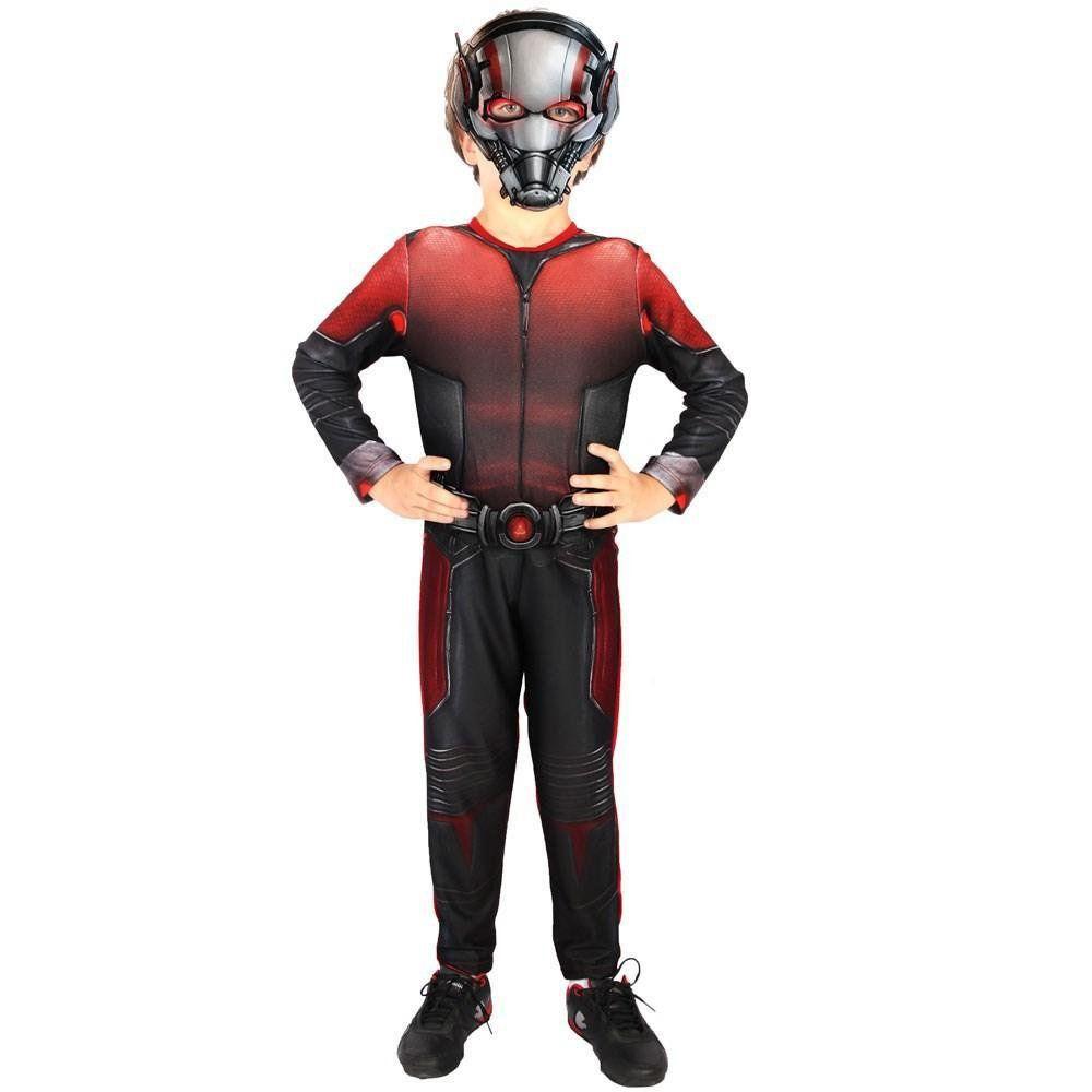 Fantasia Infantil: Ant-Man (Homem-Formiga) Longa M - Rubies