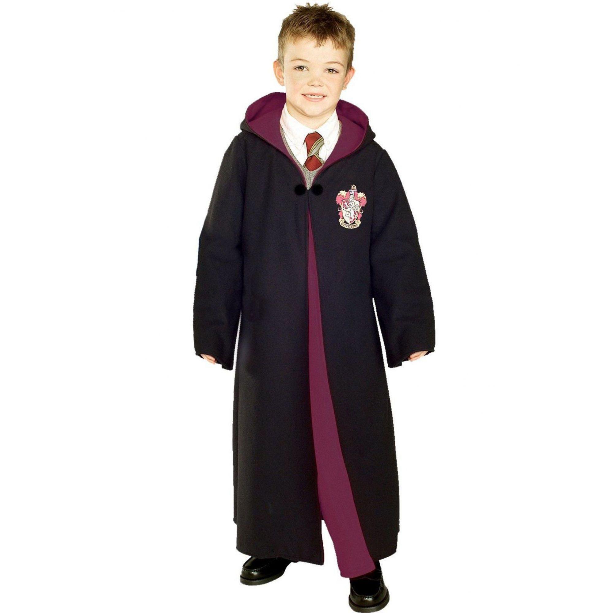 Fantasia Infantil Capa Grifinória (Deluxe): Harry Potter