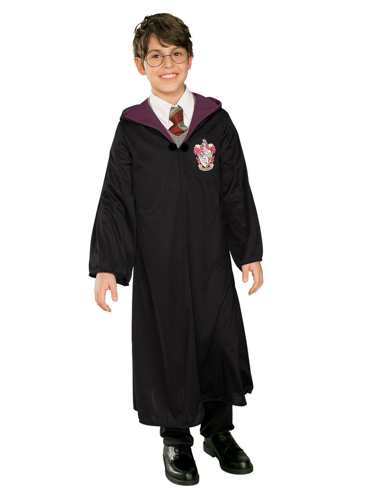 Fantasia Infantil Capa Grifinória: Harry Potter