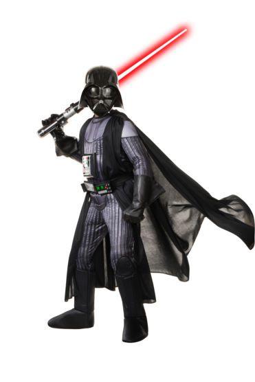 Fantasia Infantil Darth Vader: Star Wars - Rubies Costume - CD