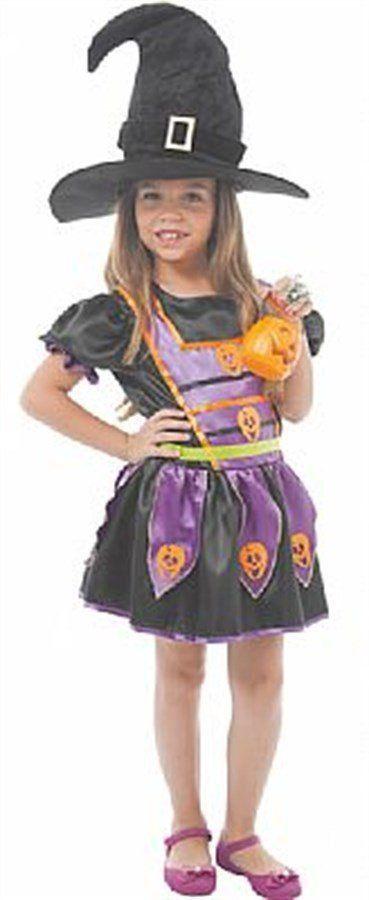 Fantasia Infantil Feminina: Bruxinha Nini