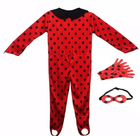 Fantasia Infantil Feminina Ladybug