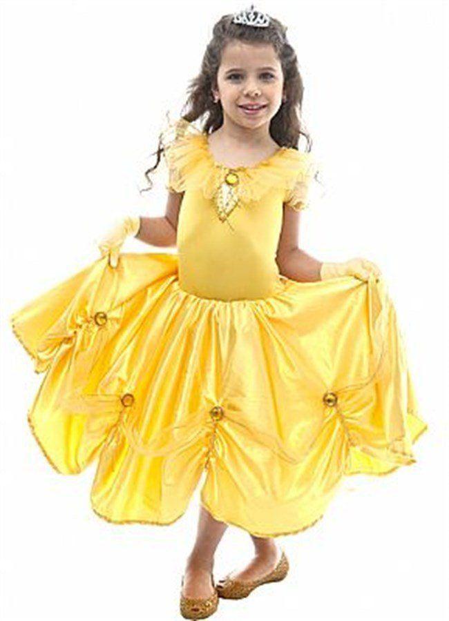 Fantasia Infantil Feminina: Princesinha Bela Luxo