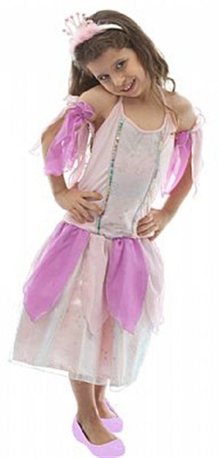 Fantasia Infantil Feminina: Princesinha Colorida Luxo
